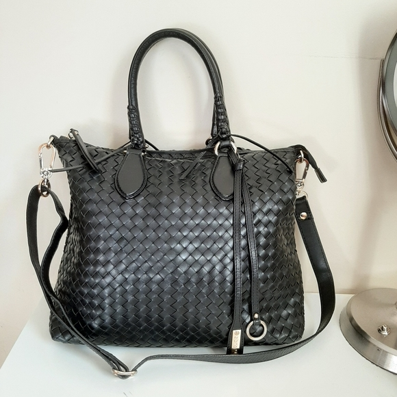 Abro  Leather Woven Handbags
